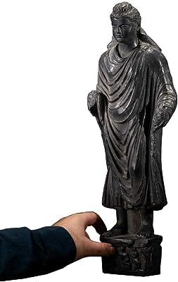 Amazon Com Sdbrkyh Buddha Standing Statue Gandhara Sculpture Buddhism Standing Buddha Greek Buddhist Supplies Decoration Home Kitchen