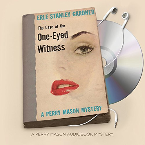 The Case of the One-Eyed Witness audiobook cover art