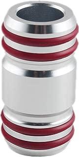 JGR Aluminum Audi Oil Cooler Pipe for Audi 4.2L V8 Engine S4, A8, A6, RS6, VW Phaeton (SILVER)