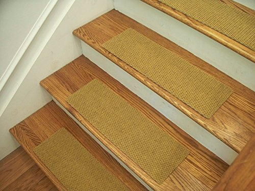 Essential Carpet Stair Treads - Style: Berber - Color: Natural - Size: 24