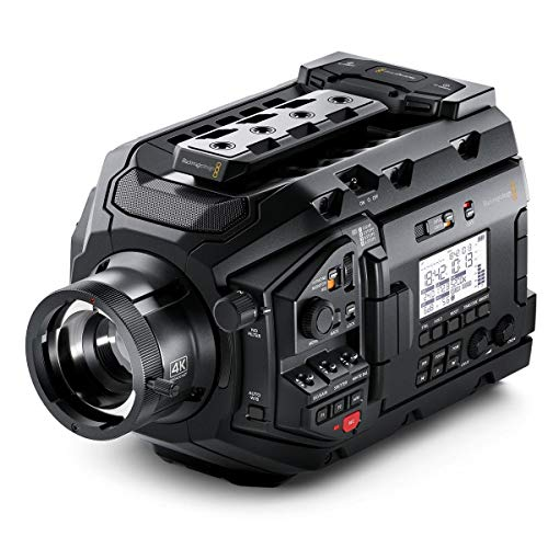 Blackmagic Design URSA Broadcast Shoulder Camcorder Negro 4K Ultra HD - Videocámara...