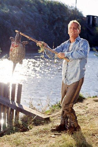 Paul Newman camisa de mezclilla de longitud completa de 11 x 17...