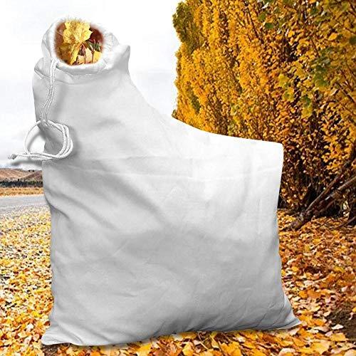 flower205 Laubsauger Fangsack Auffangsack Für Laub Bläser Sauger Für Gartenstaubsauger Staubdichter Ersatzteil-Schredderrasen Für Ultra-Gebläse Rechen- Und Vakuum-Laubbläser