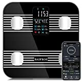Best Body Fat Scales - BAIFROS Smart Bluetooth Body Fat Scale, Large Display Review