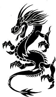 EROSPA® Tattoo-Bogen / Sticker temporär - Drachen / Dragon
