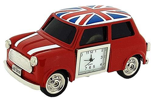 Miniature Novelty Union Jack Komplett Britisch Roter Mini Sammleruhr