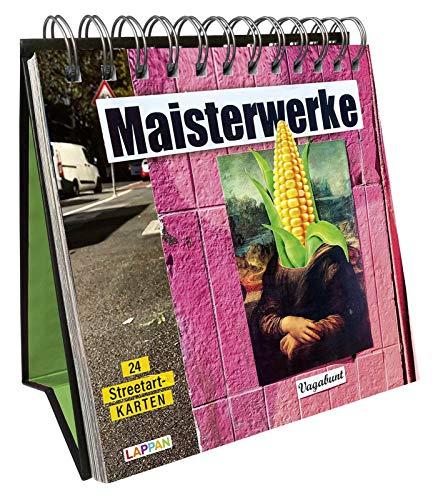 Vagabunt - Maisterwerke: Witziges Geschenk: Lustige Postkarten mit Sprüchen