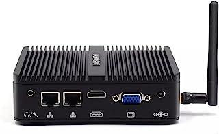 BASOARO Mini PC RS232, Industriële Mini Computer, Celeron J4125, 16G RAM 256G SSD, Gigabit Ethernet, 2*RS232 COM poort, HD...