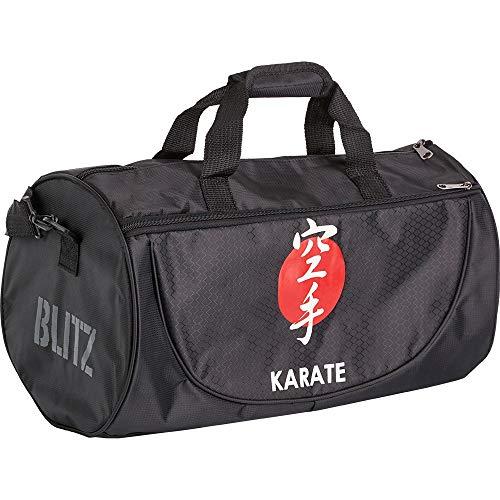 Blitz - Borsone unisex per karate, taglia unica, colore: Nero
