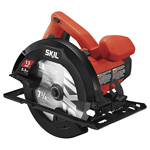 "Skil 5080-01 13-Amp 7-1/4"" Circular Saw, Red (Renewed)"