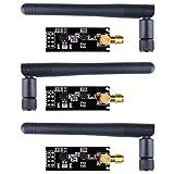 kuman 3 pcs nRF24L01+PA+LNA Antenna Wireless Transceiver RF Transceiver Module for Arduino KY67