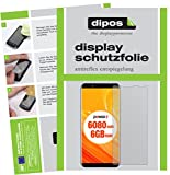 dipos I 6X Schutzfolie matt kompatibel mit Ulefone Power 3 Folie Bildschirmschutzfolie