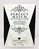 LeChat Perfect Match DUAL SET Soak Off Gel Polish & Dare to Wear Nail Lacquer - Black Velvet - PMS30 by Lechat Nail Care [Beauty]
