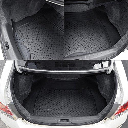 Motor Trend Flextough Rubber Car Floor Mats