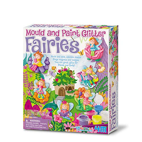 4M - Mondo Creativo - Paint Kit e Cast - Fairies Theme