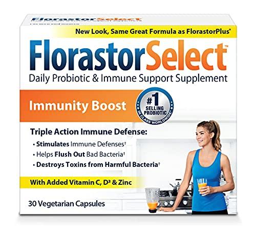 Biocodex Florastor Florastorplus Cápsulas, 30 unidades, paquete de 2