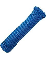 PrimeMatik - Multifilament gevlochten touw PP 10 m x 3 mm blauw