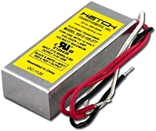 Hatch RS12-105 120v-12v 105w dimmable w//leads out both sides halogen transformer