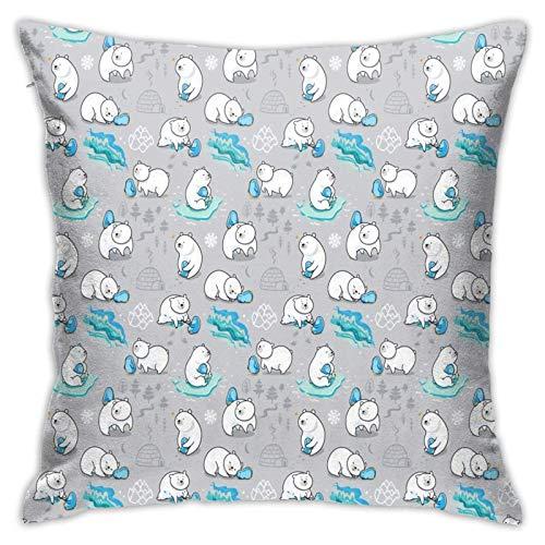 Funda de almohada, diseño de amistad, moderno, cuadrada, decoración de estilo piilloase, para sofá, cama, silla, coche, 45,7 x 45,7 cm