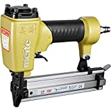 meite F32 18 Gauge 3/8-Inch to 1-1/4-Inch Pneumatic Brad Nailer or Finish Nailer for Woodworking Projects