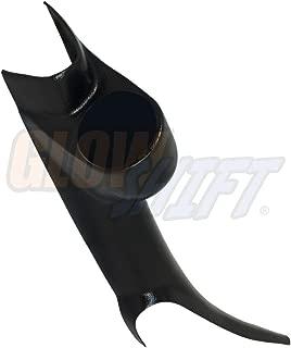 GlowShift Black Single Pillar Gauge Pod for 2000-2006 Chevrolet Chevy Silverado 1500 2500HD 3500HD Duramax - ABS Plastic - Mounts (1) 2-1/16