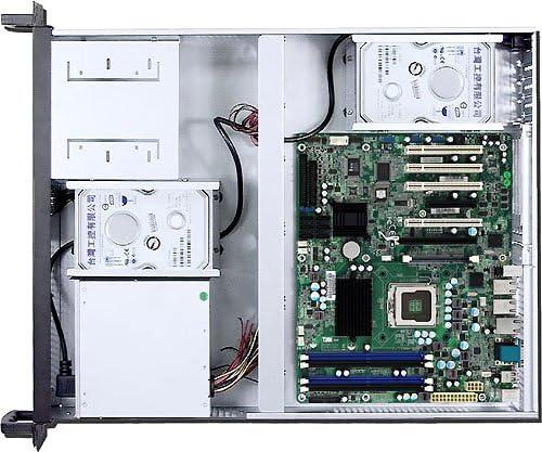 PLINKUSA RACKBUY 2U(2x5.25+6x3.5 HD Bay)(3 Horizontal Riser Card or 7 Low Profile)(D:21.65