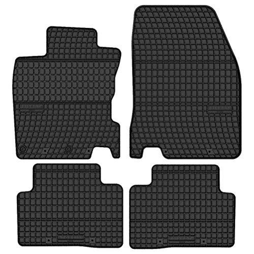 Prismat Gummimatten Gummi Fußmatten Satz für Nissan Qashqai J11 (2013-2020) / Nissan Rogue Sport (2013-2020) - Passgenau