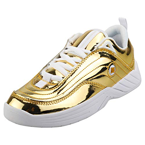 DC Shoes Williams Slim Unisex Sneaker Schlittschuh Gold - 40.5 EU