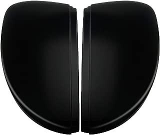 Gazechimp Side Mirror Cap Replacement Black for VW for Beetle for Passat for Jetta