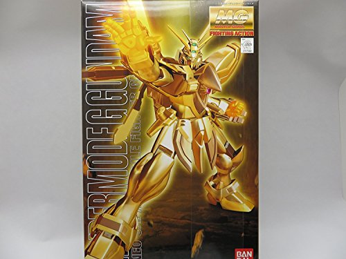 Gundam MG Hyper Mode God Gundam (Burning Gundam) Scale 1/100 Gold by BANDAI