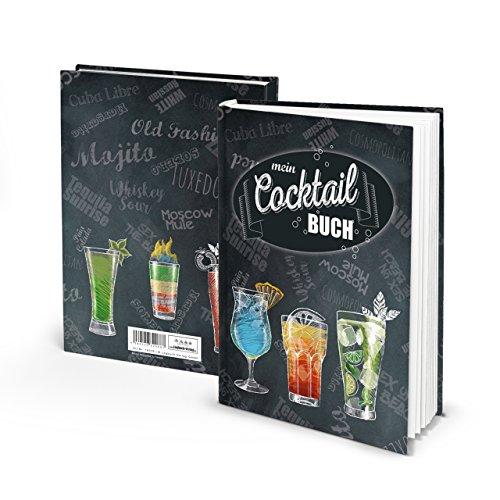 Libro de recetas para escribir, cócteles, bebidas, bebidas, aperitivos, happy hour, sin alcohol, para barman y privado