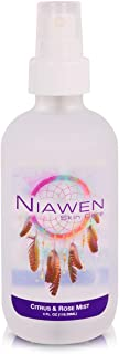 Niawen Citrus & Rose Hydrating Facial Mist. Reduce Stress, Minimize Fine Lines & Boost Collagen with Antioxidants Vitamin ...