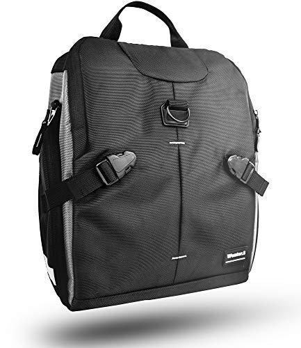 Wenter.S® Fahrradtasche für Gepäckträger zum umhängen Premium Fahrrad Gepäckträgertasche Tasche für Arbeit und Freizeit