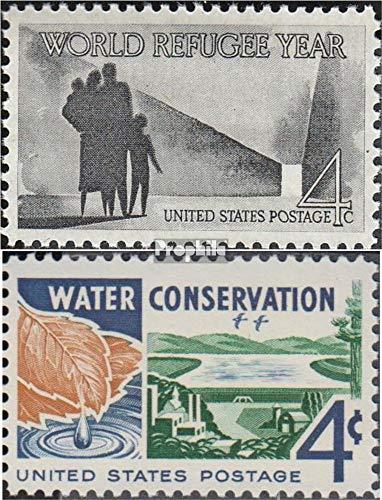 Prophila Collection EEUU 776,777 (Completa.edición.) 1960 El Año Mundial de los Refugiados, Wasserschutz (Sellos para los coleccionistas)
