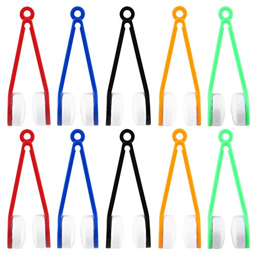 Healifty Mini Glasses Cleaner Microfiber Sun Glasses Eyeglasses Cleaner 10pcs (Random Color)