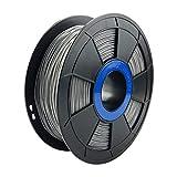 Shore A 95, sugieren velocidad de impresión: 20–40mm/s 1.75mm diámetro del filamento (dimensional precisión +/-0,05mm) Net Peso de 0,8kg/bobina Sugerir temperatura de impresión: 200–220 Bolsa de vacío sellada y sin hueso para utilizar filamen...