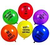 Abusive Balloons For Your Birthday Party (18 Pack)