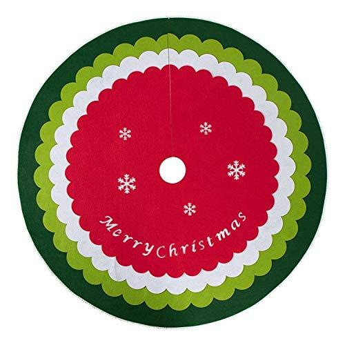 MYYXGS Weihnachtsbaum Rock Weihnachtsdekoration Liefert Weihnachtsbaum Boden SchüRze Weihnachtsbaum Rock Home Und Party Dekoration