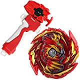 Bey Battle Evolution GT Blade Turbo God Bay B-155 Booster Master Diabolos Gn Gyro Starter Set Red String Launcher Grip Batting Top Game & Accessories Bey Burst Gaming Tops Spinning Toys Gift for Boys