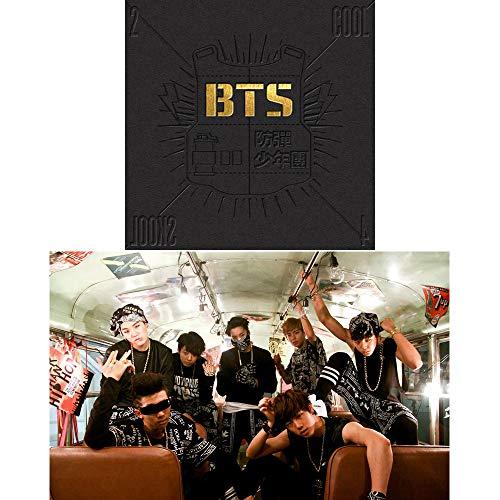 BTS 2 Cool 4 Skool Bangtan Boys Single Album CD+Photobook+Gift (Extra 6 Photocards and 1 Double-Sided Photocard Set)