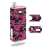 Decal Sticker Skin WRAP Pink Digital Urban Camo for Innokin iTaste MVP 2.0