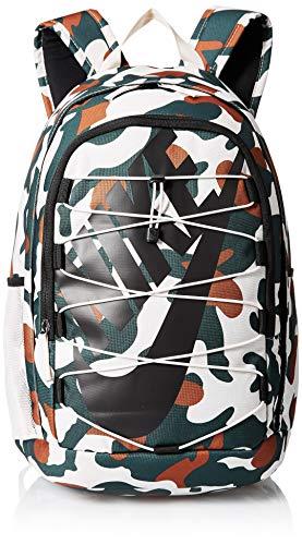 Nike Rucksack Hayward 2.0 All Over Print Camo, Unisex, Tasche, BA6102, Sand/Schwarz, Misc