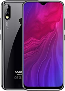 QUZH Cell Phones Smartphone Y4800, 48MP Camera, 6GB+128GB, Dual AI Back Cameras, Fingerprint Identification, 4000mAh Battery, 6.3 inch Water-drop Screen Android 9.0 MTK Helio P70 Octa Core up to 2.0GH