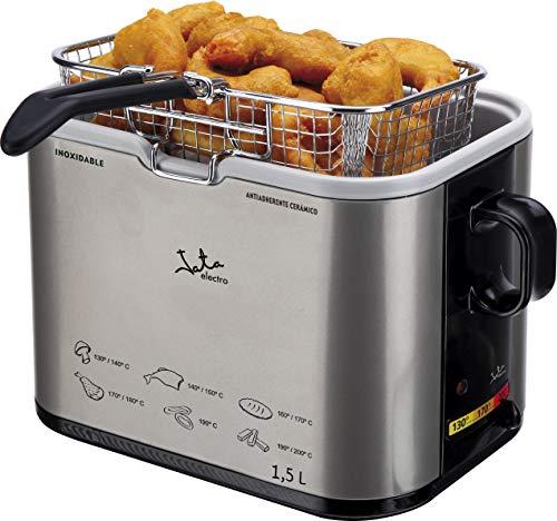 JATA FR326E Singolo 1, 5L 1000W Acciaio inossidabile fryer