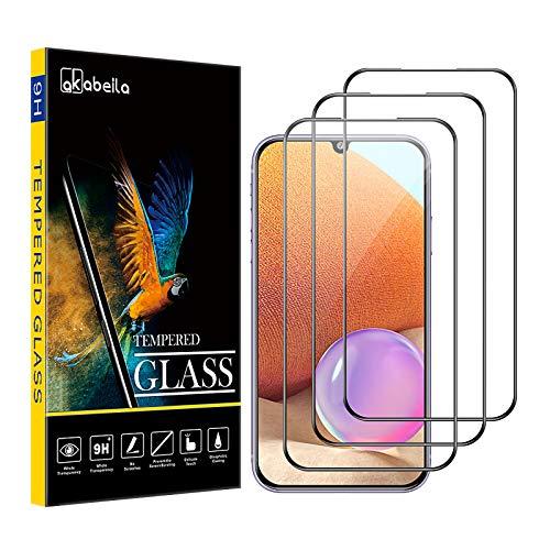 Samsung S7 Edge Panzerglas, AKABEILA Kompatibel für Samsung Galaxy S7 Edge Schutzfolie [3 Stück] [Gebogen Vollständige Abdeckung] HD Panzerglasfoli Anti-Bläschen [9H Härte] Displayschutzfolie, Schwarz