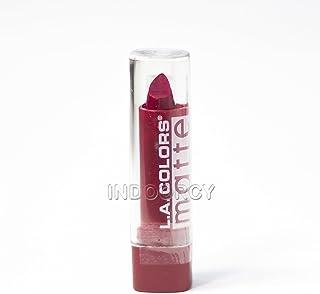 L.A. COLORS Matte Lip Color - Relentless Red (並行輸入品)