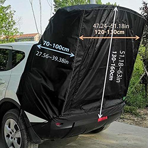 wuxiaobo Mid to Full Size SUV Tailgate Shade Awning Tent Rooftop Tents for Camping Waterproof Universal Trunk Tent car Canopy Self-Driving Car Tabernacle