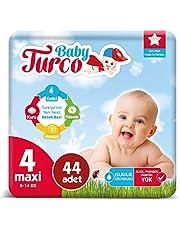 Baby Turco Bebek Bezi 4 Numara Maxı 44 Adet