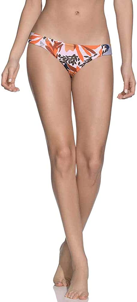 Maaji Women's Tab Side Reversible Signature Cut Bikini Bottom Swimsuit