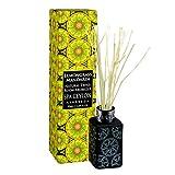Spa Ceylon Luxury Ayurveda Lemongrass Mandarin Natural Twigs Room Aromizer Diffusore di Fragranza Casa con Pure oli Essenziali, 1,69 Once Fluidi